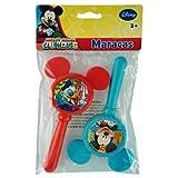 Mickey Clubhouse 2pk Maracas