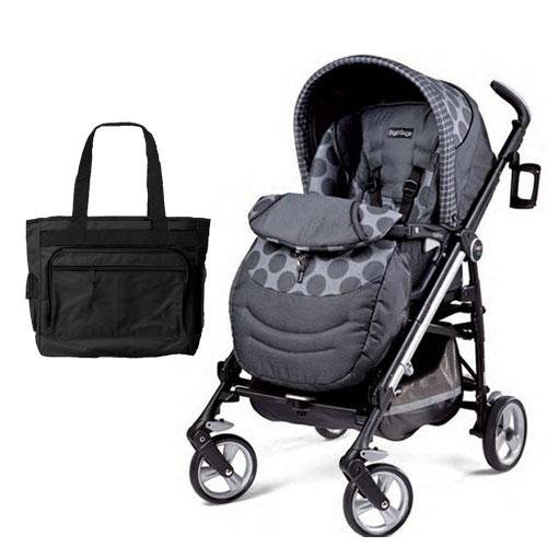 Pliko Switch 4-Position Stroller Color: Poin Grey front-910106
