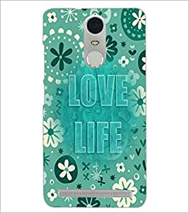 PrintDhaba Quote D-3683 Back Case Cover for LENOVO K5 NOTE (Multi-Coloured)