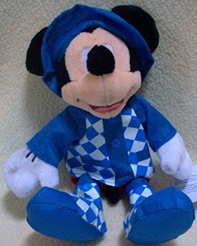 "Disney 6"" Plush Mickey Mouse in Rain Coat Doll Toy"