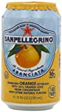 San Pellegrino Sparkling Beverage, Aranciata (Orange), 11.15-Ounce Cans (Pack of 24)