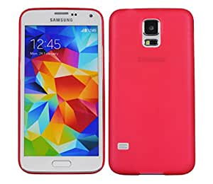 Galaxy S5 Case, TURTLE Ultra slim Shell Case for Samsung Galaxy S5 (SM-G900F) (Red)
