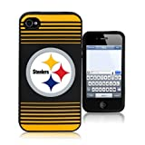Forever Collectibles Pittsburgh Steelers Team Logo Silicone Apple iPhone 4 & 4S Case at Amazon.com