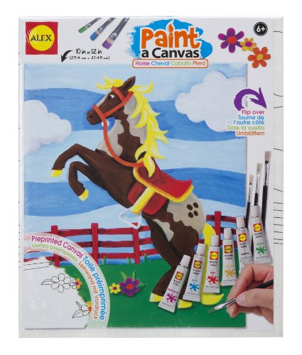 ALEX Toys Artist Studio Paint A Canvas Horse Art Kit