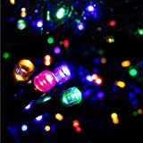 MJR Combo of Christmas LED lights Serial bulbs Multi Color - 50-55 bulbs-[9Meter/30 feet] + USB LED light
