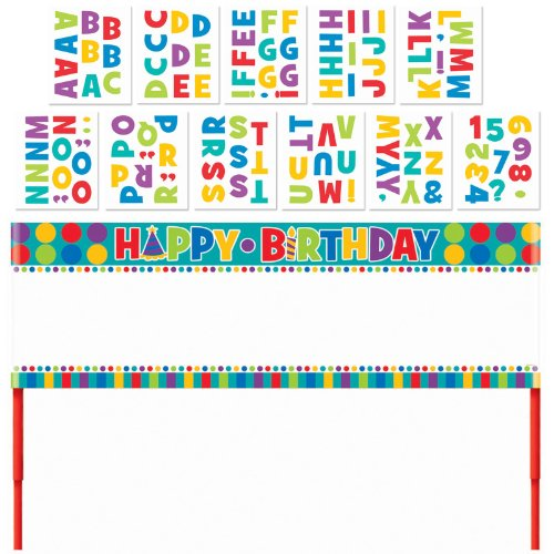 Amscan - Birthday Personalized Lawn Banner - Standard - 1