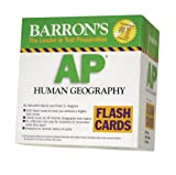 img - for Barron's AP Human Geography Flash Cards (Barron's: the Leader in Test Preparation) book / textbook / text book