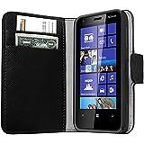 mumbi Tasche im Bookstyle für Nokia Lumia 620 Tasche