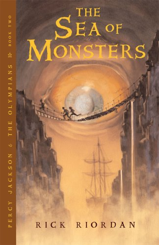 Book Review: Percy Jackson & The Sea of Monsters (Percy Jackson & The Olympians Book 2), By Rick Riordan Cover Art