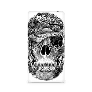 Mobicture Skull Abstract Premium Printed Case For Sony Xperia C4
