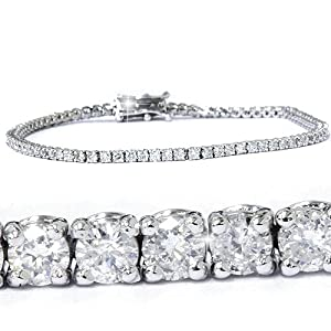 3.00CT Diamond Tennis Bracelet 14K White Gold from Pompeii3 Inc.
