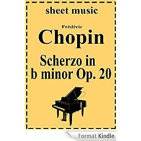 Scherzo No. 1 in b minor, Op. 20 (English Edition)