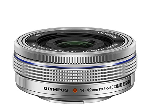 OLYMPUS 電動式パンケーキズームレンズ M.ZUIKO DIGITAL ED 14-42mm F3.5-5.6 EZ SLV
