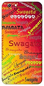 Swagata (Popular Girl Name) Name & Sign Printed All over customize & Personalized!! Protective back cover for your Smart Phone : Samsung Galaxy Note-4
