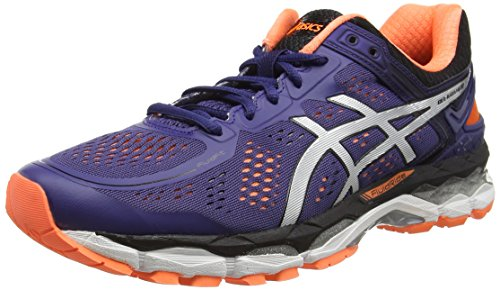 ASICS - Gel-kayano 22, Zapatillas de Running Hombre, Azul (deep Cobalt/silver/hot Orange...