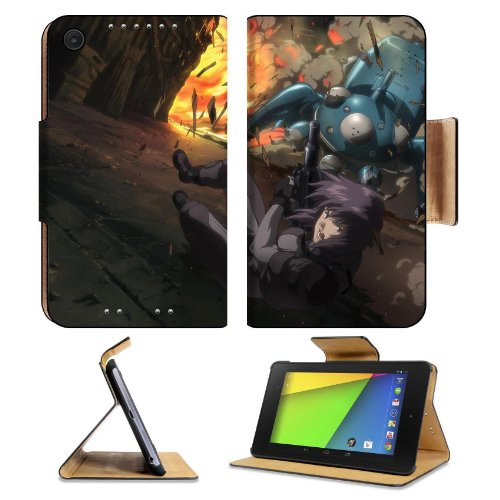 Ghost In The Shell Major Motoko Asus Google Nexus 7 Fhd Ii 2Nd Generation Flip Case Stand Magnetic Cover Open Ports Customized Made To Order Support Ready Premium Deluxe Pu Leather 8 1/4 Inch (210Mm) X 5 1/2 Inch (120Mm) X 11/16 Inch (17Mm) Liil Nexus 7 P front-118700