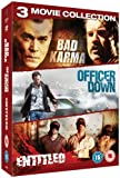 Crime Triple:Bad Karma/The Entitled/Officer Down [DVD]