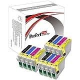 1PerfectPrint - Cartuchos de repuesto para Epson T1285 (12 unidades)