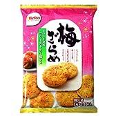 栗山米菓 梅ざらめ 14枚×12袋