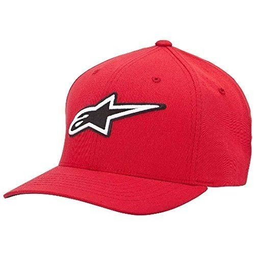 Alpinestars Men's Corporate Hat Baseball Cap, Red, Small by Factory Effex