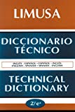 img - for Diccionario Tecnico Technical Dictionary (Spanish Edition) book / textbook / text book