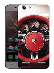 "Supercar Wheel Printed Designer Mobile Back Cover For ""Lenovo Vibe K5 - K5 Plus"" By Humor Gang (3D, Matte Finish, Premium Quality, Protective Snap On Slim Hard Phone Case, Multi Color)"