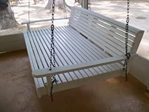 Louisiana Cypress Swings Swing Bed Flat bottom