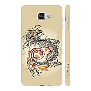 Enthopia Designer Hardshell Case Chinese Dragon Back Cover for Samsung Galaxy A3 (2016)