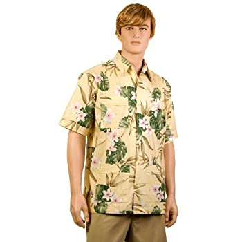 Butter Plumeria Hawaiiabera Shirt