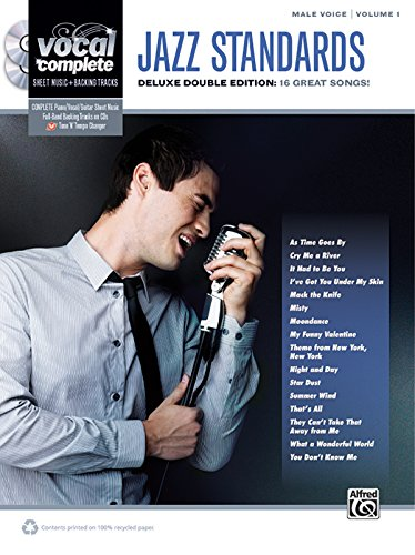 Vocal Complete -- Male Voice Jazz Standards: Piano/Vocal Sheet Music with Orchestrated Backing Tracks, Book & 2 Enhanced CDs: 1