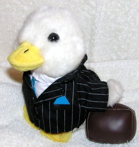 plush-6-talking-aflac-duck-in-business-suit-with-briefcase-by-aflac