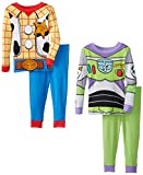 Komar Kids Baby-Boys Infant Toy Story Cotton 4 Piece Pajama Set, Multi, 24 Months