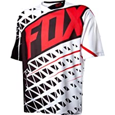 Fox Head Men's Demo Short Sleeve Jersey Black/White