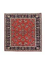 L'Eden del Tappeto Alfombra Yazd Rojo / Multicolor 227  x  227 cm
