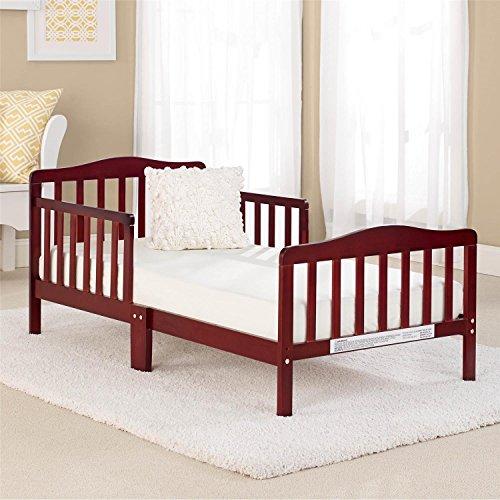 Big Oshi Contemporary Design Toddler Bed, Cherry