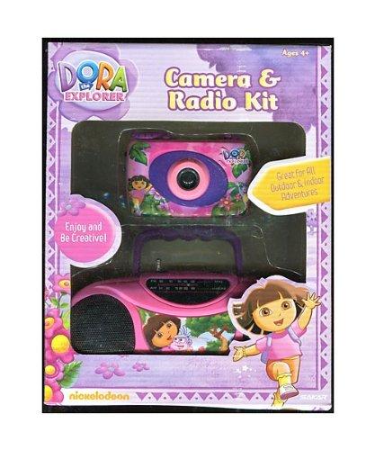 Dora the Explorer ** Camera & Radio Kit ** Nickelodeon