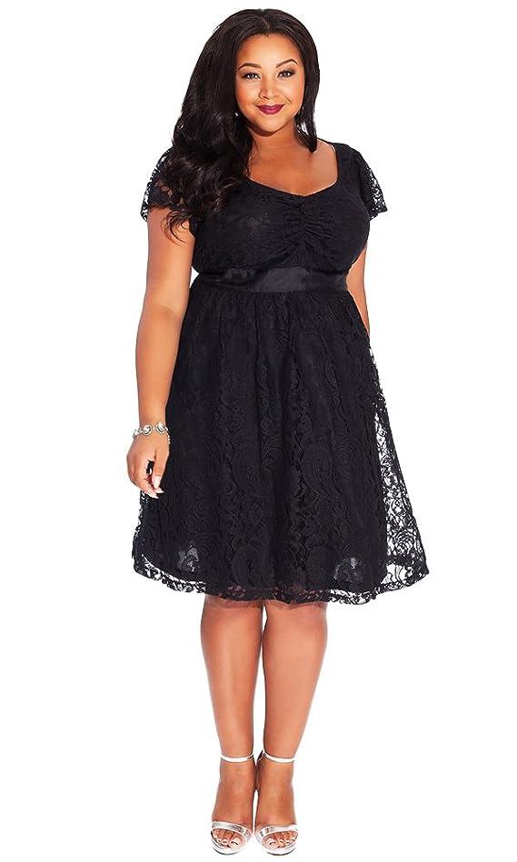 IGIGI Women's Plus Size Liz Lace Dress 22 24