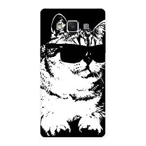 Gorgeous Thug Cat Back Case Cover for Samsung Galaxy A5