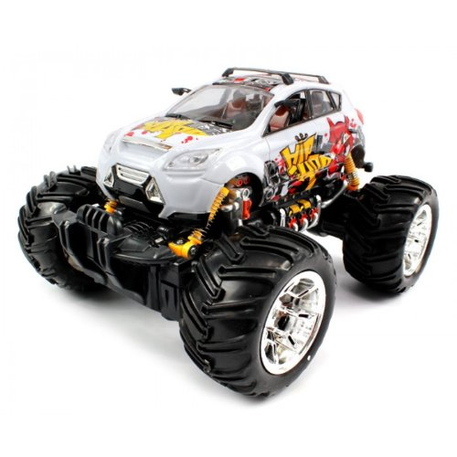 Big Size QUALITY Electric Full Function 1:16 Hip Hop Graffiti Monster RTR RC Truck (Colors MAy Vary) QUALITY Remote Control RC Trucks w/ Working Suspension