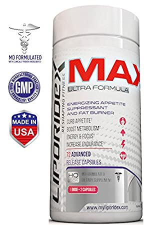 Liporidex MAX Weight Loss Supplements