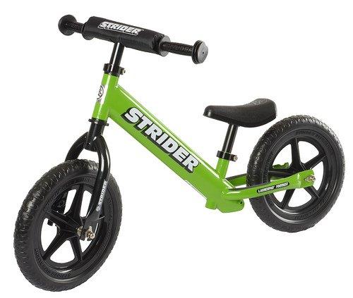 Best Kids Balance Bike for Sale - Green STRIDER ST-4 Bike, No-Pedal Boys and Girls