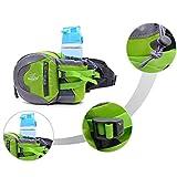 HST 小物収納でき ファッション 軽量 多用途なアウトドア対応 水筒ボトル ウエストパック/ポーチ [並行輸入品]