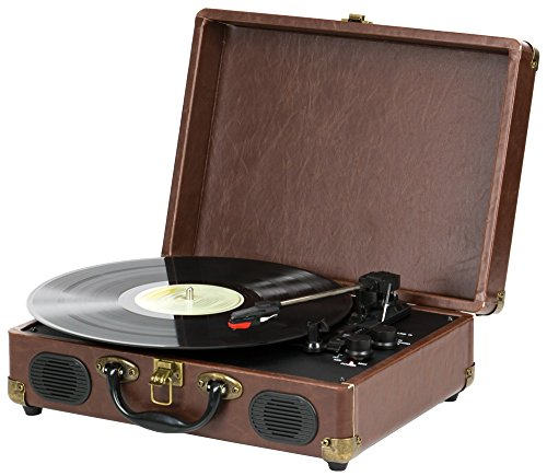 QFX TURN-101 Retro Collection Suitcase Turntable 1