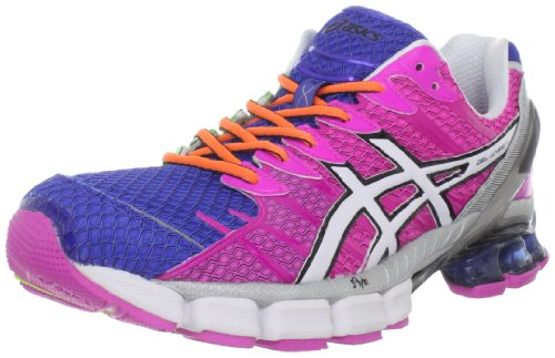 asics womens gel kinsei 4 lilac/black/white