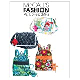 McCall's Patterns M6176 Backpack, Bag, Case in 3 Sizes and Charm, One Size Only