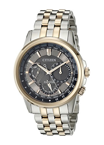 Citizen Mens BU2026-57H Calendrier Eco-Drive Two-Tone Stainless Steel Bracelet Watch
