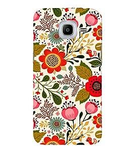 EPICCASE blossom flower Mobile Back Case Cover For Samsung J2 2016 (Designer Case)