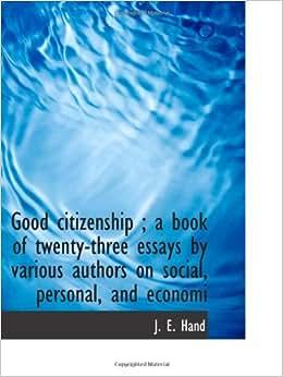 Building Good Citizenship