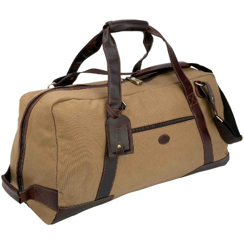 0e5d0f1362a9 5 Cheap Baron Country Large Canvas   Leather Duffel Bag