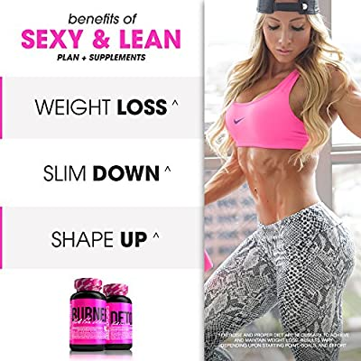 SHREDZ® Sexy & Lean Plan for Women - Lose Weight, Tone Up, Best Ingredients!